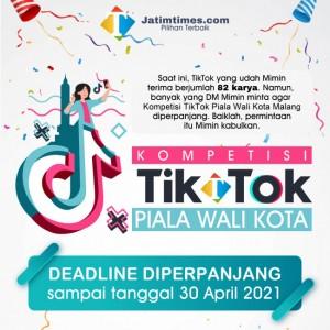 Besok Terakhir, Tagar 107kotamalang TikTok Piala Walikota Malang Ditonton 2,1 Juta Kali