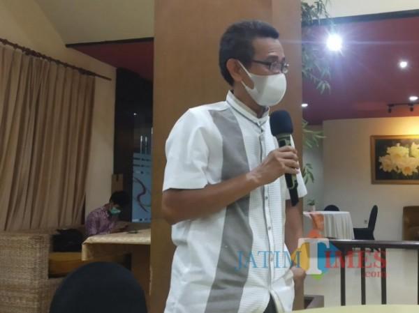 Pembina Yayasan Politik dan Peradaban, Luthfi J Kurniawan (Foto: Pipit Anggraeni/MalangTIMES).