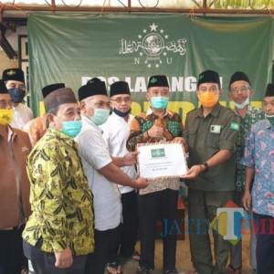 PW LP Ma'arif NU Jatim Beri Stimulus Sekolah Madrasah Terdampak Gempa