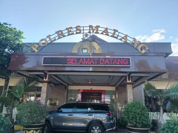 Konfrensi pers penemuan mayat perempuan cantik di Kabupaten Malang (foto: Hendra Saputra/MalangTIMES)
