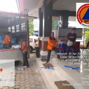 Bantuan Logistik Masih Mengalir, BPBD Kabupaten Malang Distribusikan untuk Korban Gempa
