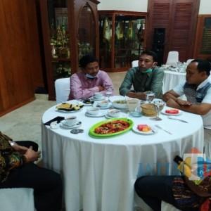 Jelang Pengukuhan, Pengurus FKPD Minta Restu dan Bukber Bersama Bupati Tulungagung