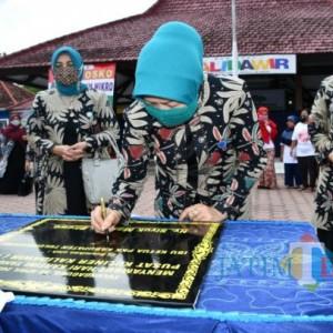 Pusat Kuliner Kalidawir Diresmikan Tim Penggerak PKK Kabupaten Tulungagung, Ini Harapannya
