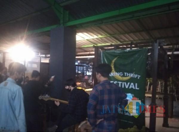 Suasana Bareng Thrift Festival hari ke-3, Sabtu (1/5/2021)