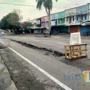 Potensi Merusak, DPUPRPKP Kota Malang Larang Pedagang Buang Air Limbah ke Aspal Jalan