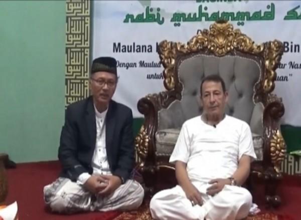 Rektor UIN Malang, Prof Abdul Haris (kiri) bersama Maulana Habib Luthfi bin Yahya (Ist)