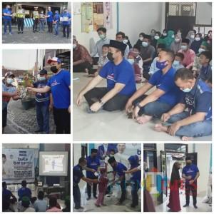 Edhie Baskoro Yudhoyono dan DPC Demokrat Ngawi Berbagi Takjil Dan Buka Puasa Bersama Anak Yatim