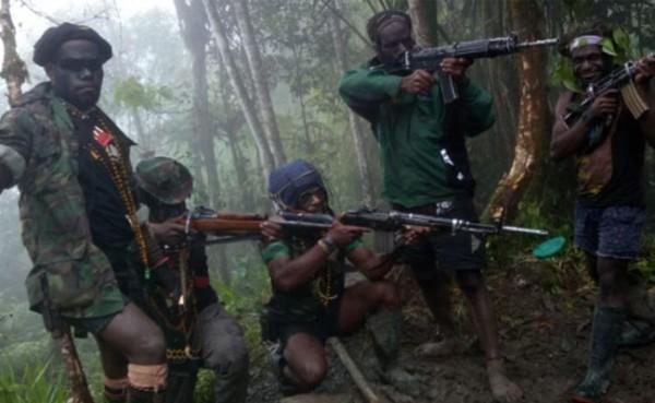 KKB Papua (Foto: iNews)