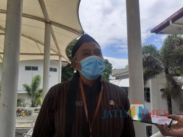 Kepala Dinas Tenagakerja Penanaman Modal dan Pelayanan Terpadu Satu Pintu (Disnaker-PMPTSP) Kota Malang Erik Setyo Santoso (Arifina Cahyanti Firdausi/MalangTIMES).