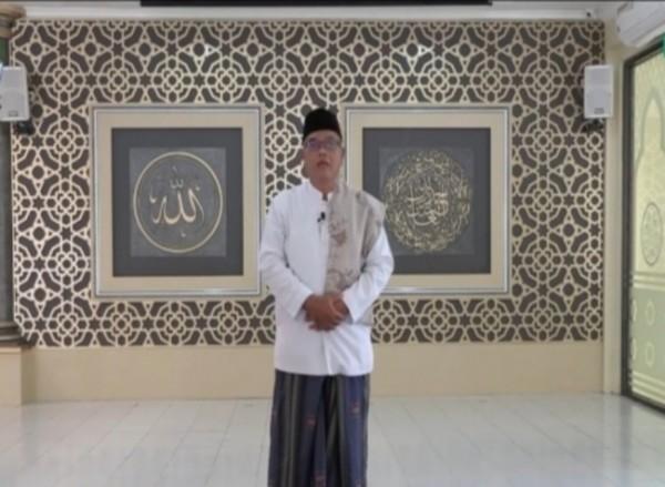 Penceramah dalam Kultum Ramadhan Unisma Malang, Drs H Anwar Sa'dullah MPdi (Ist)