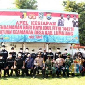 Polres Lumajang Libatkan SKD dalam Pengamanan Hari Raya Idul Fitri
