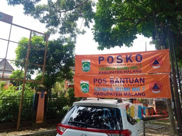 Posko Tanggap Darurat Bencana BPBD Kabupaten Malang (Foto: Fery/ MalangTIMES)