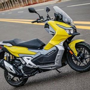 Intip Spesifikasi Vorela 150, Skutik Tiruan Honda ADV150, Ada Kamera Depan & Belakang