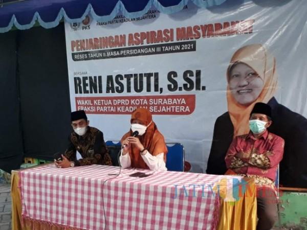 Wakil Ketua DPRD Surabaya Reni Astuti.