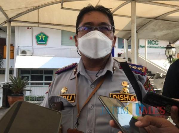 Kepala Dinas Perhubungan Kota Malang Heru Mulyono. (Foto: Tubagus Achmad/MalangTIMES)