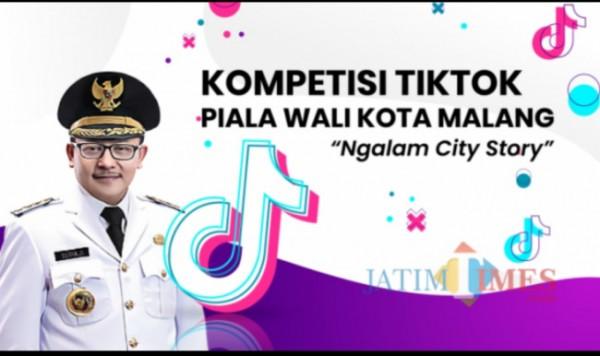 Kompetisi TikTok Piala Wali Kota Malang. (Foto: Dokumentasi JatimTIMES).