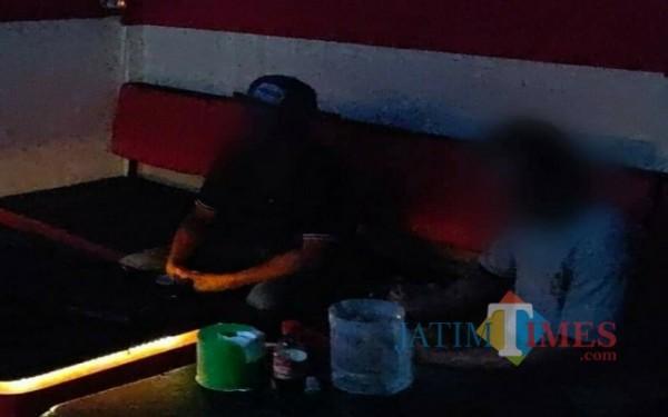 Masih banyak ditemukan kafe buka di bulan Ramadlan dan pandemi Covid-19 di Tulungagung (Foto : Istimewa for TulungagungTIMES).