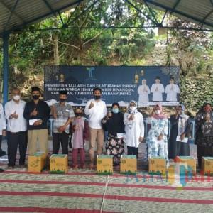 Tugu Tirta Kota Malang Silahturahmi dan Beri Tali Kasih Bersama Warga di Sumber Air Binangun