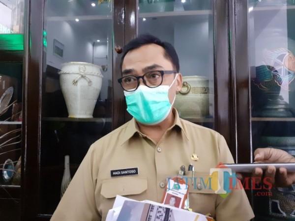Pj Sekretaris Daerah (Sekda) Kota Malang, Hadi Santoso. (Arifina Cahyanti Firdausi/MalangTIMES)