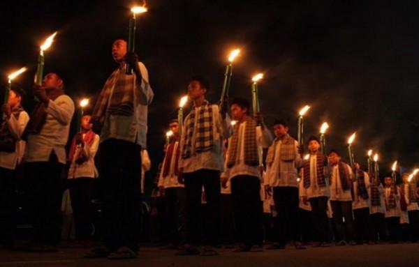 Potret malam takbir keliling sambut Hari Raya Idul Fitri. (Foto: source google).