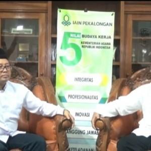 Bertandang ke IAIN Pekalongan, Rektor UIN Malang Diskusi Pengembangan PTKIN di Masa Pandemi