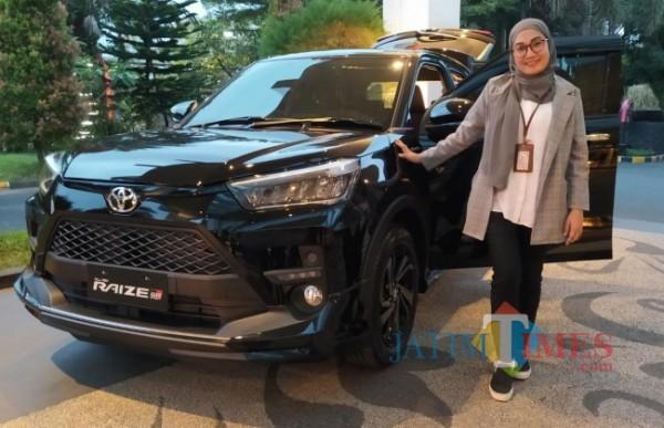 SUV compact Toyota Raize, keluaran terbaru Toyota yang siap sapa warga Malang Raya (Nurlyla Ratri/MalangTIMES).