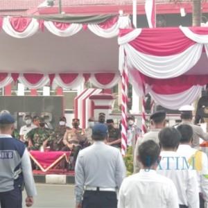Pimpin Apel Gelar Pasukan Operasi Ketupat, Ini Penekanan Wali Kota Blitar