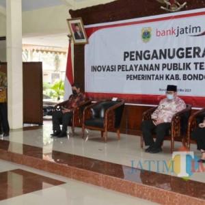 Tingkatkan Layanan, Pemkab Bondowoso Gelar Penganugerahan Kompetisi Inovasi Pelayanan Publik 2021