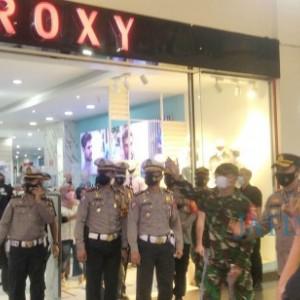 Antisipasi Kerumunan, TNI Polri Jember Cek Kesiapan Pusat Perbelanjaan