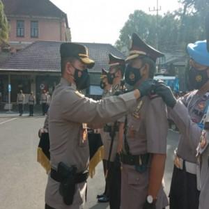 Dua Perwira Menengah Polresta Malang Kota di Mutasi