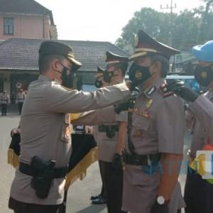 Polresta Malang Kota Lakukan Rotasi pada Posisi Kasat Lantas dan Kasat Intelkam