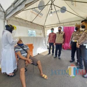 Selama Larangan Mudik, Pemkot Malang Sediakan 1.600 Alat Rapid Tes Antigen di Pospam Exit Tol Madyopuro