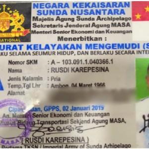 Jenderal Ditilang Polisi, Terkuak Adanya Kekaisaran Sunda Nusantara