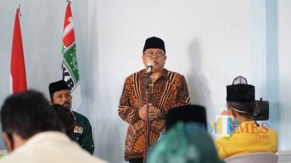 Wali Kota Blitar Santoso.(Foto : Aunur Rofiq/BlitarTIMES)