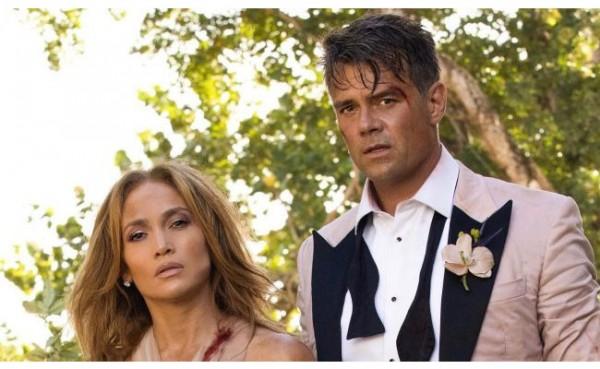Film Shotgun Wedding (Foto: Layar.id)