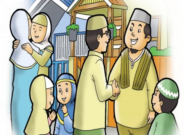 Ilustrasi hari raya Idul Fitri (iluszidotblogspotdotcom)