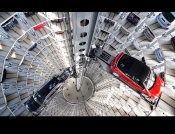 Ilustrasi parkir vertikal. (Foto: source google).