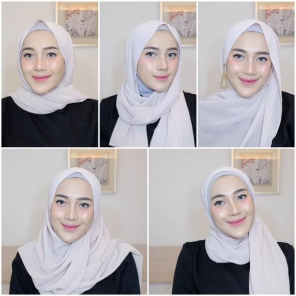 Modis di hari lebaran dengan model hijab ala Malaysian. (Foto: screenshoot Youtube Ashry Rabani ).
