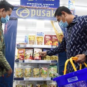 Wali Kota Kediri Luncurkan Pusaka, Rangkul Pusat Perbelanjaan dan Toko Swalayan Modern Pasarkan Produk UMKM