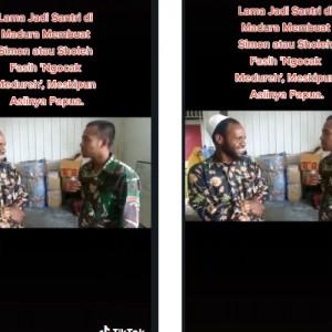 Jadi Santri di Pamekasan, Pria Asal Wamena Ini Fasih Bahasa Madura