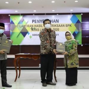 Delapan Kali Berturut-turut Pemkab Jombang Raih Opini WTP dari BPK