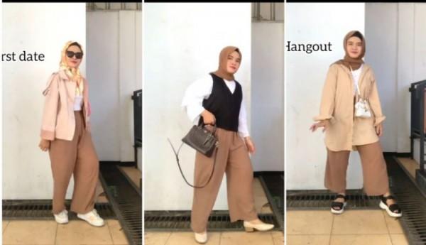 Cara tampil modis dengan outfit celana tidur. (Foto: Instagram @maryamulifa).