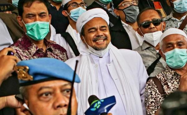 Habib Rizieq (Foto: Warta Ekonomi)