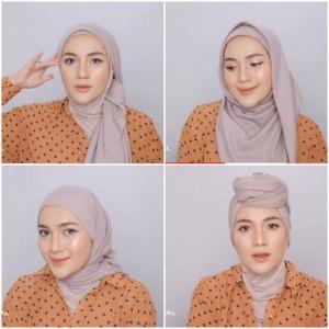 Tampil di Luar Gaya SNI Hijab Segi Empat, Gaya Hijabers Ini Boleh Dicontek Lho