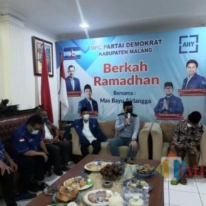 DPD Partai Demokrat Jatim Kunjungi DPC Kabupaten Malang, Target 1 Fraksi Diteguhkan