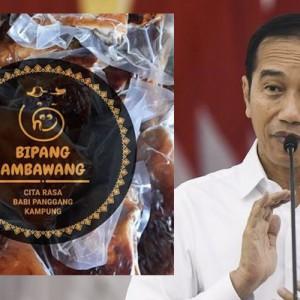 Geger Jokowi Sebut Menu Lebaran Bipang Ambawang dalam Pidatonya, Warganet Minta Klarifikasi