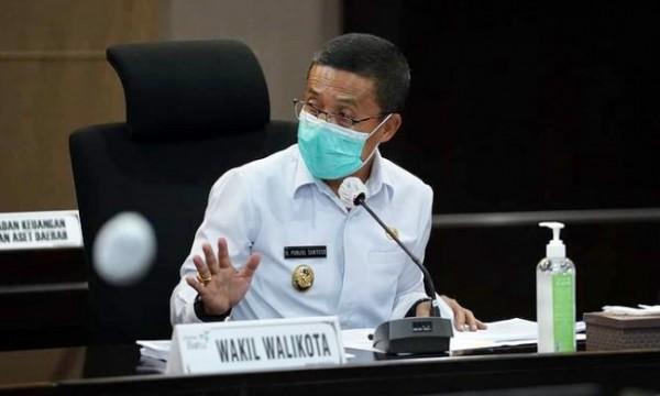 Wakil Wali Kota Batu Punjul Santoso saat di ruang lantai 4 Balai Kota Among Tani beberapa saat lalu. (Foto: istimewa)