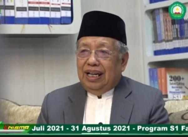 Dewan pembina Unisma, Prof Imam Suprayogo (Ist)