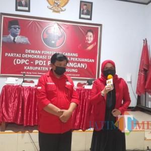 DPP PDI Perjuangan, Percayakan Gatot Sunu Sebagai Cawabup Tulungagung