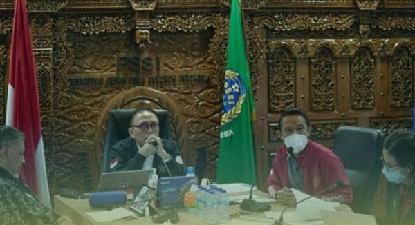 PSSI menetapkan Kongres Tahunan PSSI 2021 pada 29 Mei 2021 mendatang digelar di Jakarta. (Foto: ist)